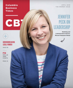Columbia Business Times Cover April 2018