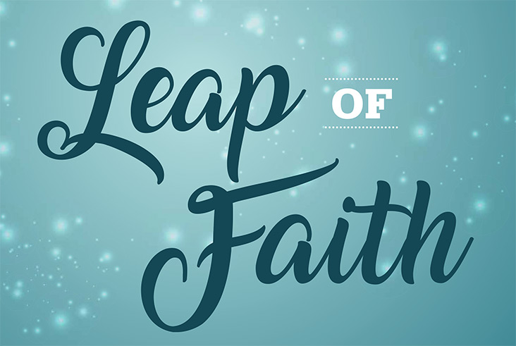 COMO Living Magazine Leap of Faith